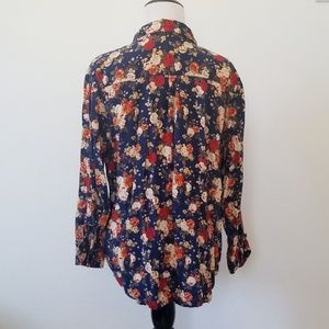 Faded Glory Tops - Faded Glory Floral Button Up